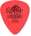 Dunlop 418R 0.50mm Tortex Guitar Pick (Red)