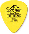 Dunlop 418R 0.73mm Tortex Standard Guitar Pick (Yellow)