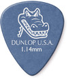 Dunlop 417P 1.14mm Gator Grip Guitar Pick (Blue)