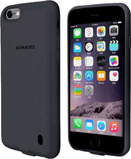 info for 9fdfe e589f Romoss EnCase 6S 2000mAh Battery Case for iPhone 6 and 6S - Grey