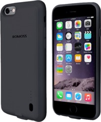 Romoss EnCase 6P 2800mAh Battery Case for iPhone 6 Plus and 6S Plus - Grey - Cover