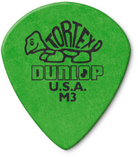 Dunlop 472RM3 Tortex Jazz III Guitar Pick (Green) - Cover