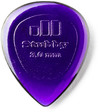 Dunlop 474P 3.0mm Stubby Jazz Guitar Picks (Purple)