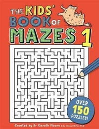 Kids' Book of Mazes 1 - Gareth Moore (Paperback) - Cover