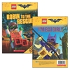 Lego Batman Movie: Robin to the Rescue / I'M B    Atgirl! - Tracey West (Hardcover) Cover