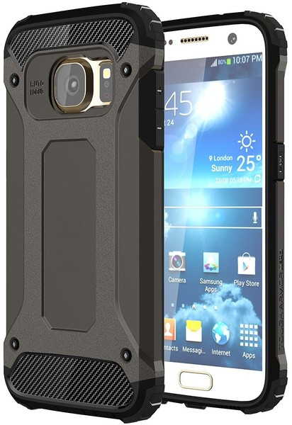 Tuff-Luv Tough Armour Case for Galaxy S7 - Black