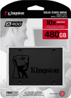 Kingston Technology - A400 SSD 480GB Serial ATA III 2.5 inch TLC Solid State Drive