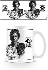 Star Wars - 40th Anniversary Han Solo Mug - Cover