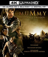 The Mummy Ultimate Trilogy (Region A - 4K Ultra HD + Blu-Ray) - Cover