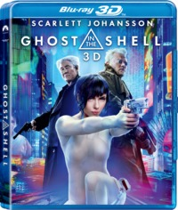 Ghost In the Shell (3D Blu-ray) - Cover