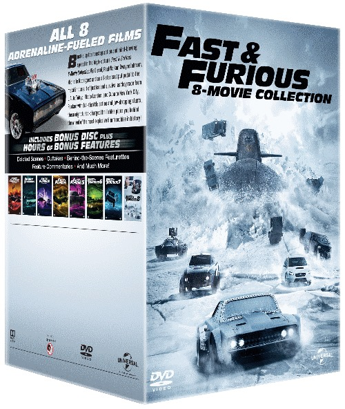 fast the furious 1 8 dvd movies tv online raru. Black Bedroom Furniture Sets. Home Design Ideas