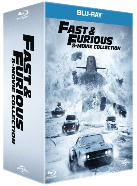 fast the furious 1 8 blu ray movies tv online raru. Black Bedroom Furniture Sets. Home Design Ideas