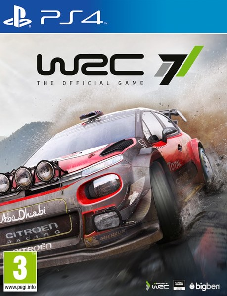 Wrc 7 Ps4 Video Games Online Raru