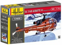 "Heller - 1:72 - Alouette III """"Securite Civile"""" (Plastic Model Kit) - Cover"