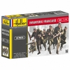 Heller - 1:72 - Infanterie Francaise (French Infantry) (Plastic Model Kit)