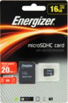 Energizer 16GB Micro SDHC Memory Card with Adapter