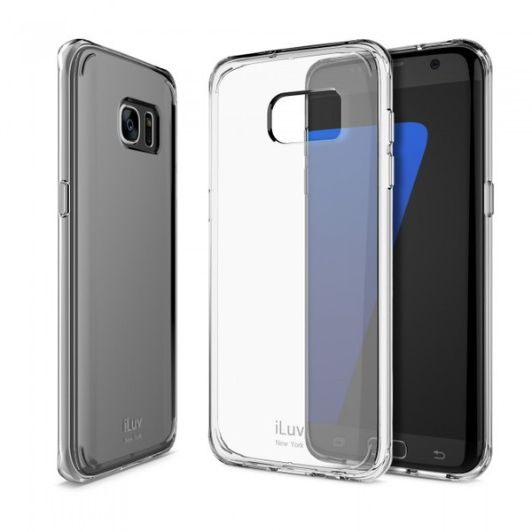 new styles 67045 b3348 iLuv - Vyneer Transparent Case for Galaxy S7 Edge - Clear