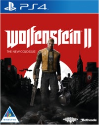 Wolfenstein II: The New Colossus (PS4) - Cover