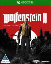 Wolfenstein II: The New Colossus (Xbox One) - Cover
