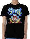 Ghost - Devil Window Mens Black T-Shirt (Small)