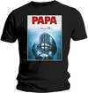 Ghost - Papa Jaws Mens Black T-Shirt (X-Large)