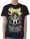 Ghost - Wegner Mens Black T-Shirt (Large)