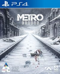 Metro Exodus (PS4) - Cover