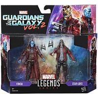 Marvel Legends: Guardians of The Galaxy Star-Lord & Yondu Figures (Pack of 2)