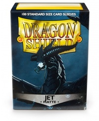 Dragon Shield - Standard Sleeves - Matte Jet (100 Sleeves) - Cover