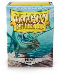 Dragon Shield - Standard Sleeves - Matte Mint (100 Sleeves) - Cover