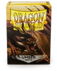 Dragon Shield - Standard Sleeves - Matte Umber (100 Sleeves) - Cover