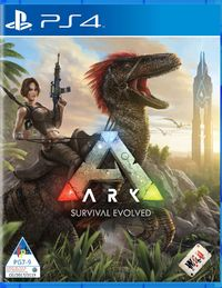 ARK: Survival Evolved (PS4) - Cover