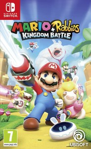 Mario + Rabbids: Kingdom Battle (Nintendo Switch) - Cover
