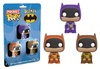 Funko Pocket Pop! - DC Comics: Batman Multicolor 3-Pack Vinyl Figures 4cm