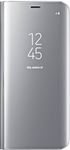 Samsung Galaxy S8 Clear View Standing Cover - Silver