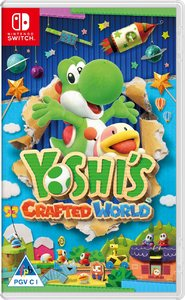 Yoshi's Crafted World (Nintendo Switch) - Cover