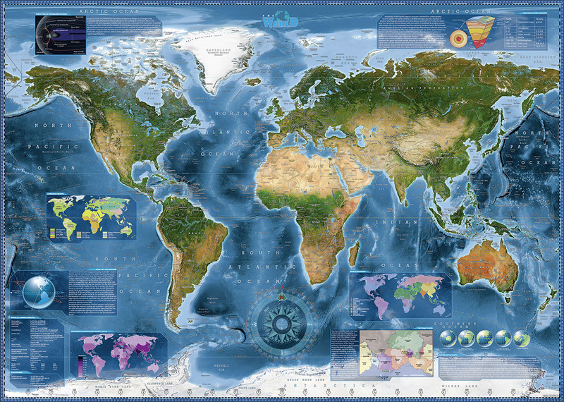 Heye satellite map puzzle 2000 pieces hobbies toys online raru heye satellite map puzzle 2000 pieces gumiabroncs Choice Image