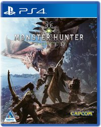 Monster Hunter World (PS4) - Cover