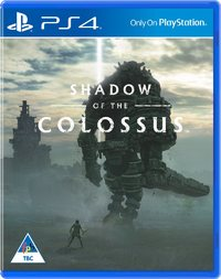 Shadow of the Colossus HD Remaster (PS4) - Cover