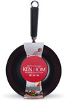 Ken Hom - 20cm Performance Non-Stick Carbon Steel Wok