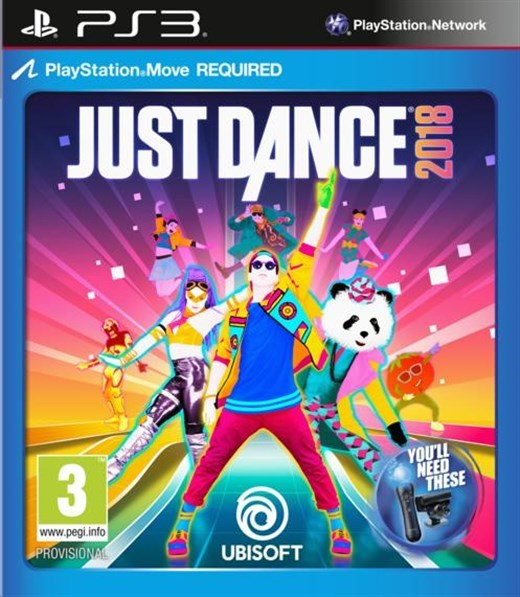 Just Dance 2018 (PS3) - Video Games Online | Raru
