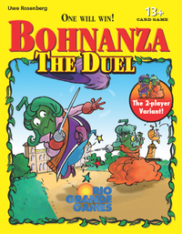 Bohnanza: The Duel - Cover