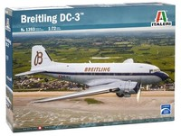Italeri - 1/72 Dakota DC-3 Breitling (Plastic Model Kit) - Cover