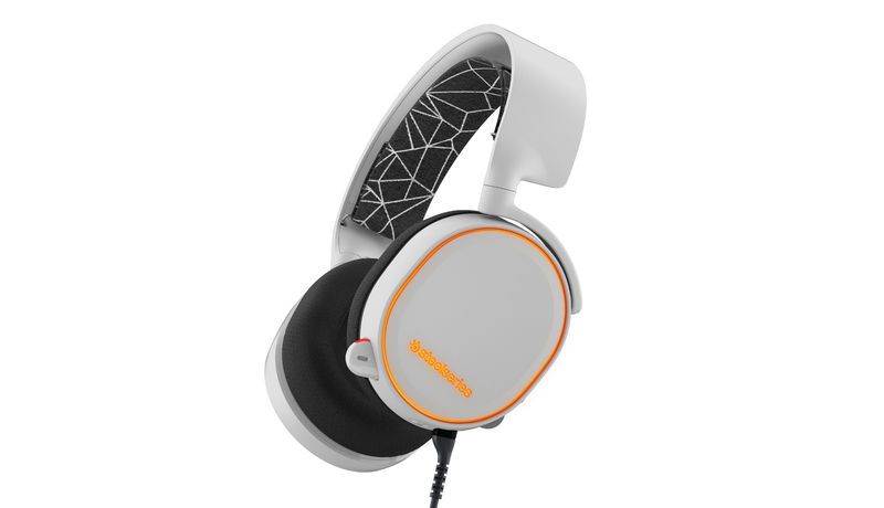 SteelSeries - Wired 7.1 Gaming Headset - ARCTIS 5 - White (PC/PS4 ...