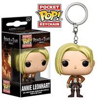 Pocket Pop! Keychain - Attack On Titan - Annie Leonhart Vinyl Figure
