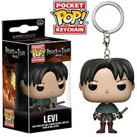 Pocket Pop! Keychain - Attack On Titan - Levi Vinyl Figure