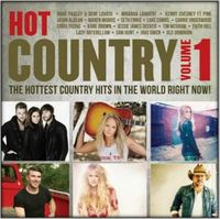 Various Artists - Hot Country Vol 1 (CD) - Cover