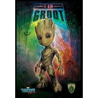 Guardians of the Galaxy - I Am Groot (Framed Poster)