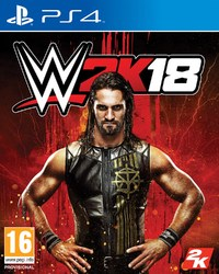 WWE 2K18 (PS4) - Cover