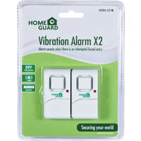 HomeGuard - Vibration Alarms: Twin Pack